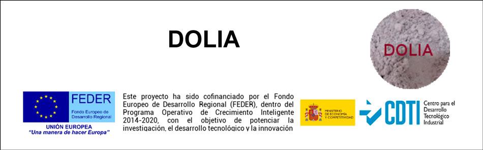 Actividades de difusión realizadas del proyecto DOLIA