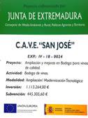 PROYECTO COOFINANCIADO POR LA JUNTA DE EXTREMADURA